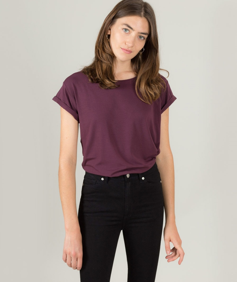 M BY M Nisha Gogreen Luxe T-Shirt wineta