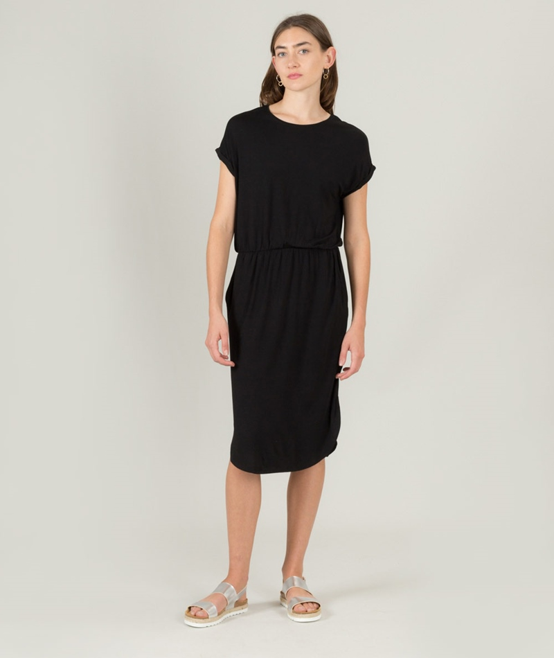 M BY M Deep Gogreen Luxe Kleid black