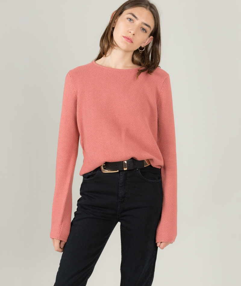 MINIMUM Hilde Pullover ash rose