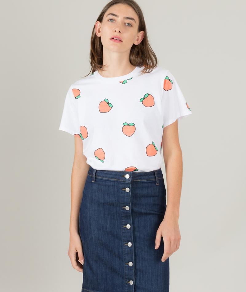 KAUF DICH GLÜCKLICH Suri T-Shirt Peach