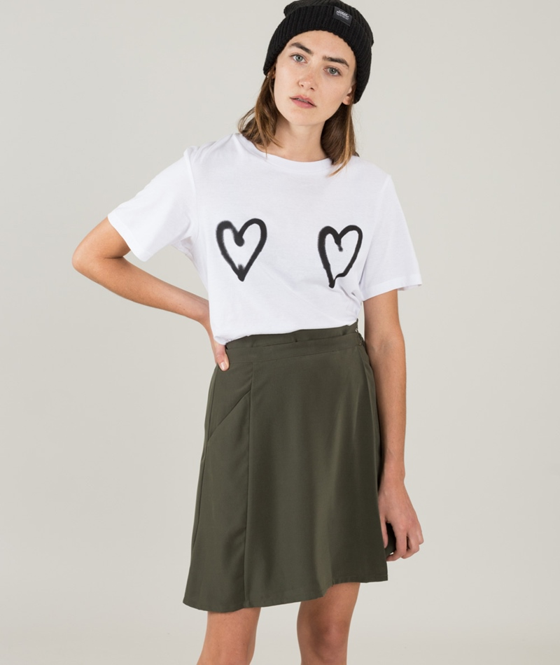 CHEAP MONDAY Breeze Double Love T-Shirt