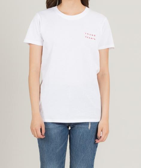 POP COPENHAGEN Young Hearts T-Shirt whit
