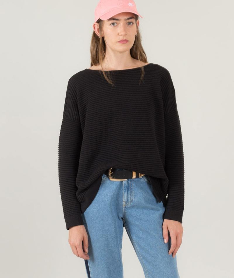SELECTED FEMME SFLaua Pullover black