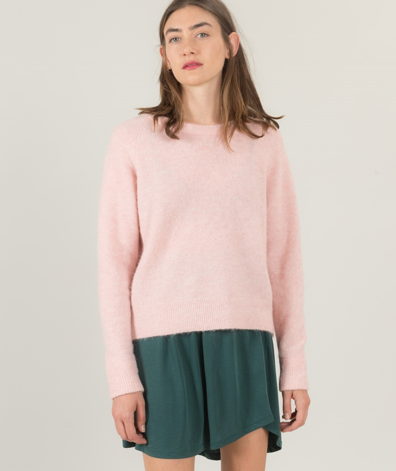 SAMSOE SAMSOE Nor O-N short Pullover rose