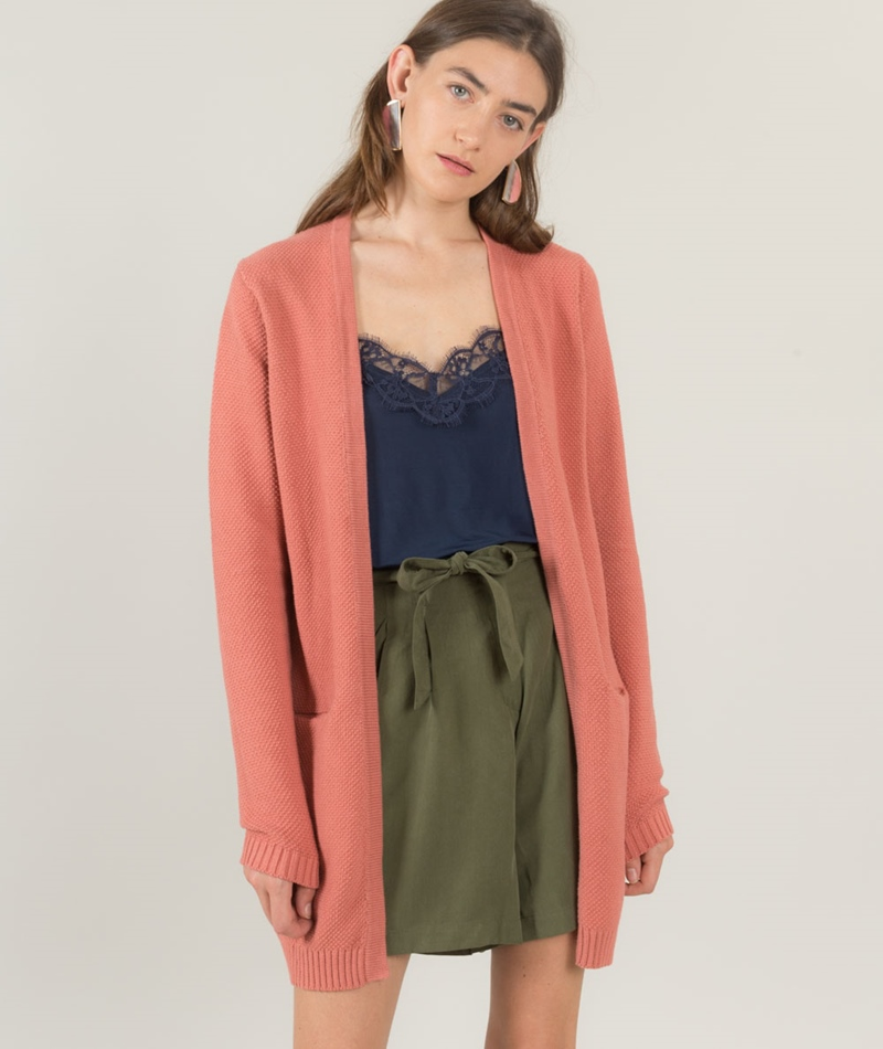 MINIMUM Veroni Cardigan ash rose
