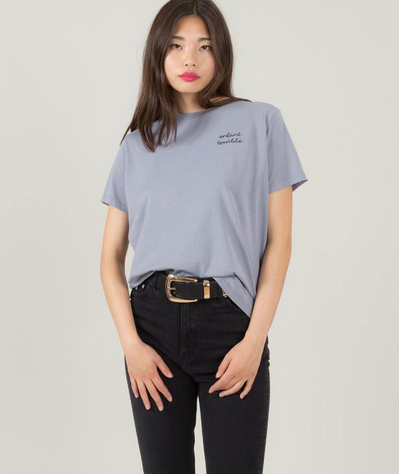KAUF DICH GLÜCKLICH Camille T-Shirt ston