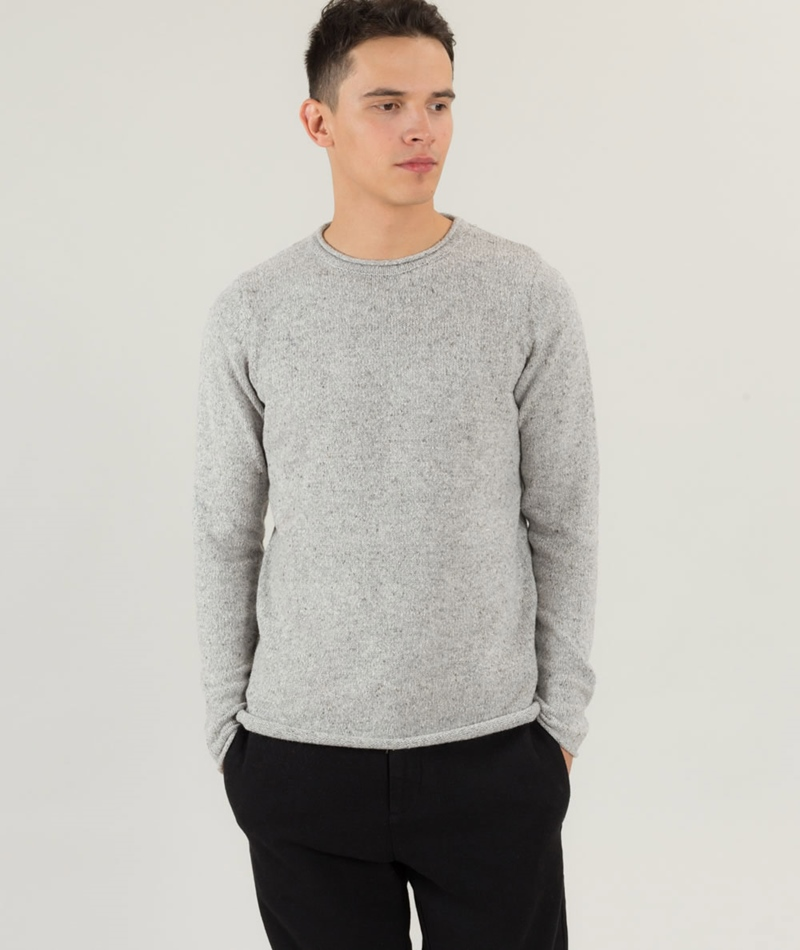 REVOLUTION Cotton Crew Knit Pullover