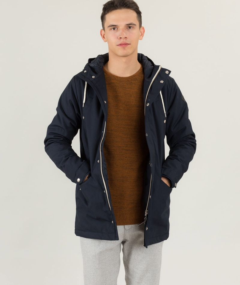 REVOLUTION Heavy Jacke navy