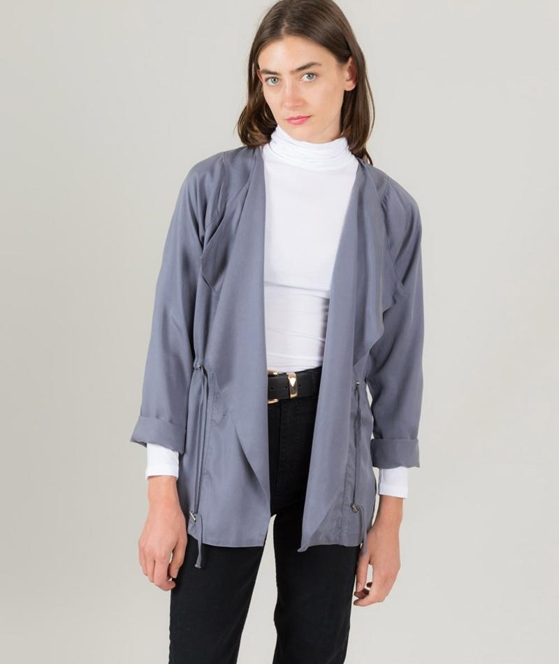 MINIMUM Loah Blazer indigo grey