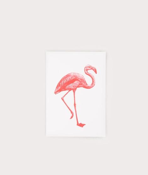 HERR UND FRAU RIO Flamingo Postkarte
