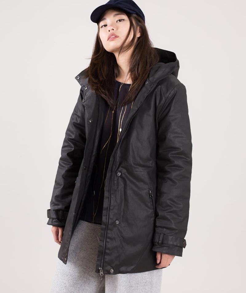 POP COPENHAGEN Coat Jacke black