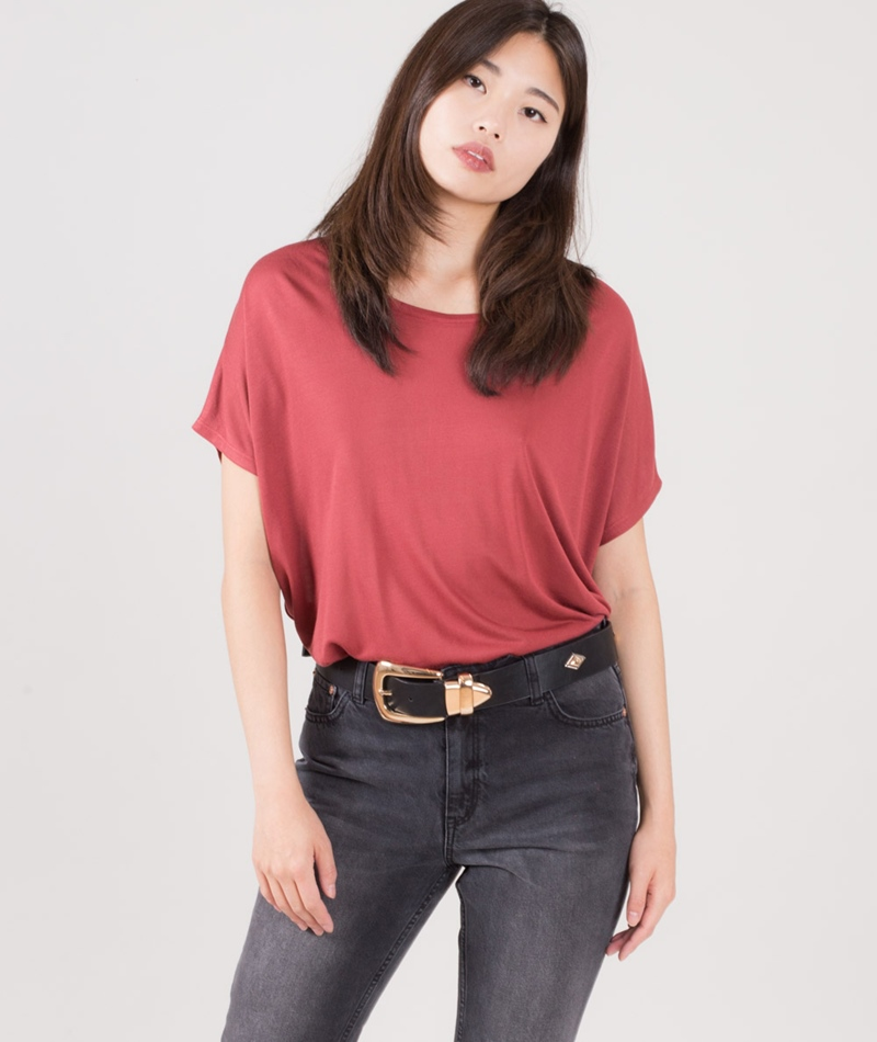M BY M Proud Gogreen Galax T-Shirt rosewood