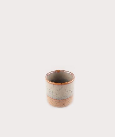 MADAM STOLTZ Two Tone Flower Pot olive