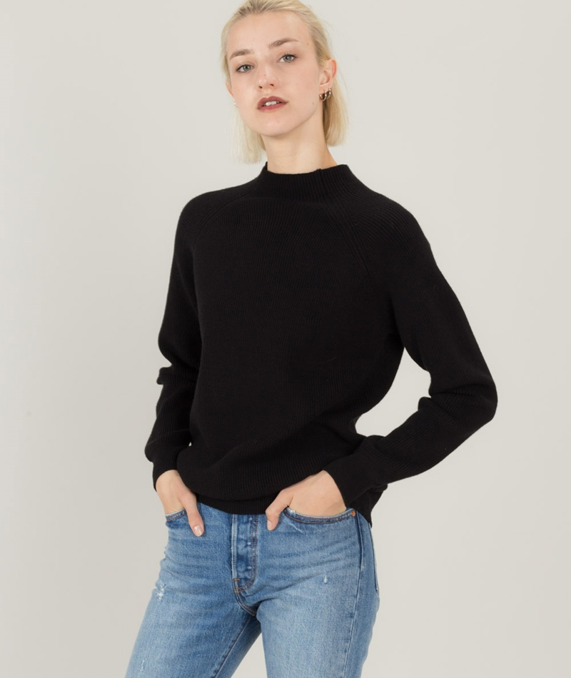 MINIMUM Runna Pullover black