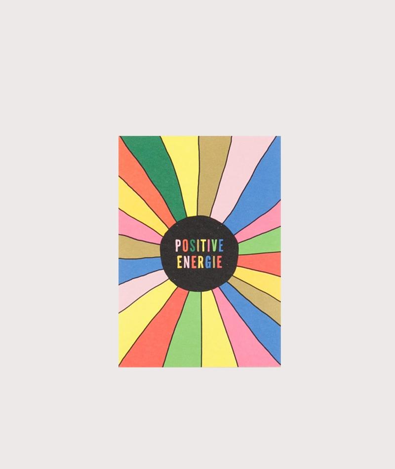 KAUF DICH GLÜCKLICH Postkarte Energie