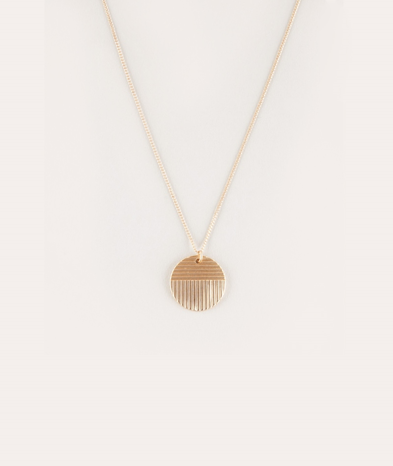 EBBA Lia Coin Necklace gold