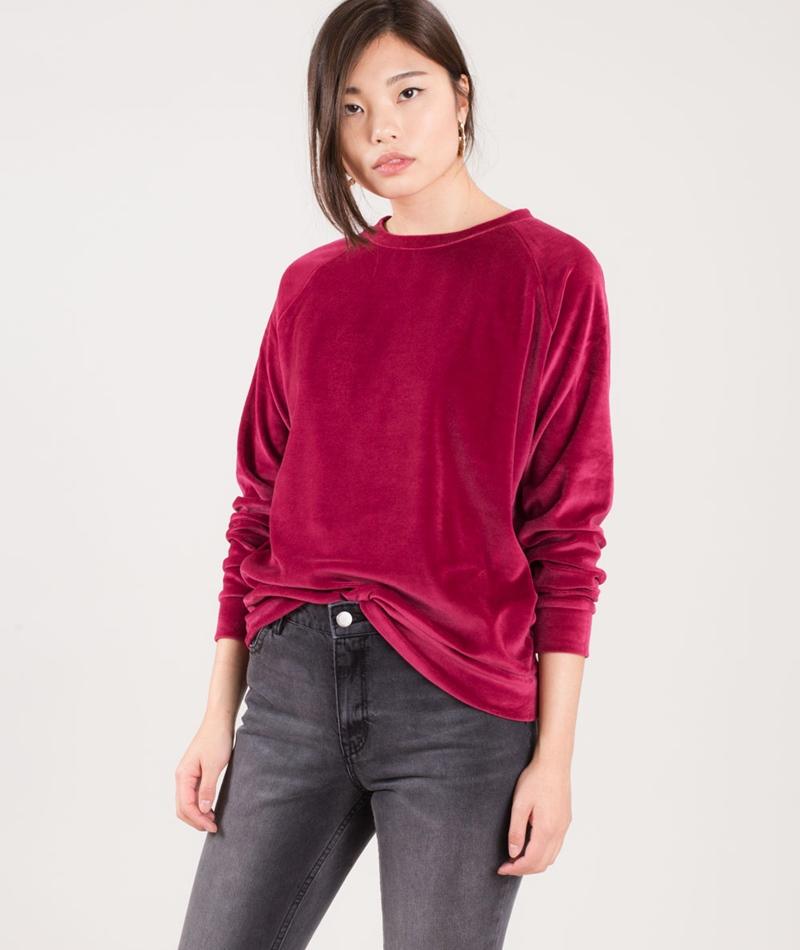KAUF DICH GLÜCKLICH Sweater berry