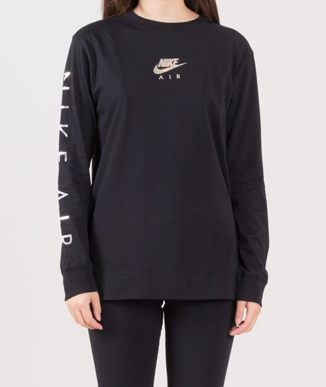 NIKE NSW Top LS Air Longsleeve black