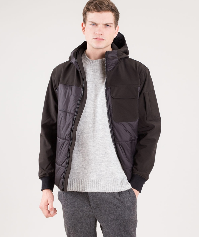 NOWADAYS Neo Padded Jacke black
