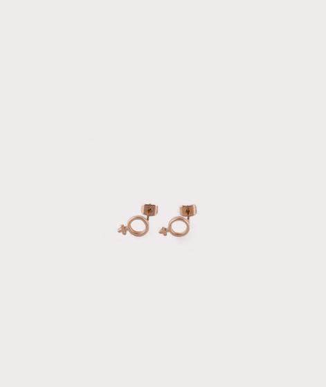 MOSS CPH Female Sign Ohrringe gold