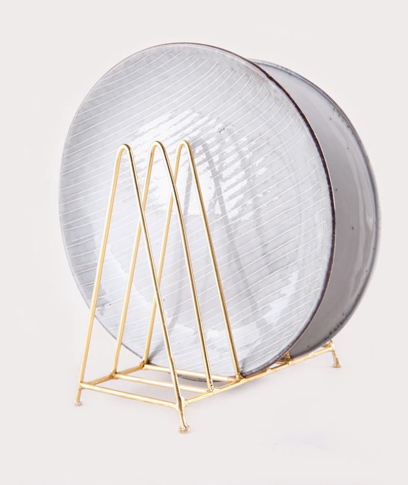 MADAM STOLTZ Plate Rack