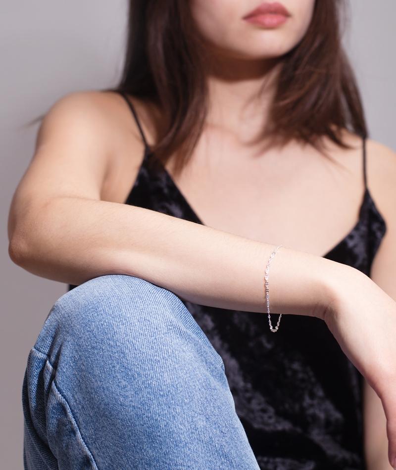 JUKSEREI Clover Armband silber