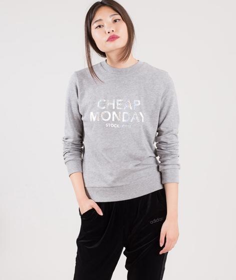 CHEAP MONDAY Win Sweater grey melange