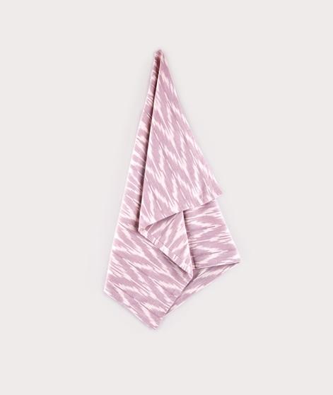 LIV Tea Towel zigline mauve