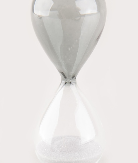 HAY Time Sanduhr S silver