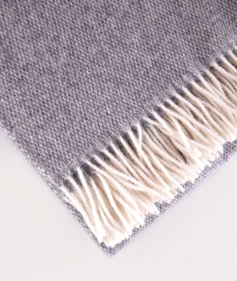 COUDRE BERLIN Wool Blanket granite grey