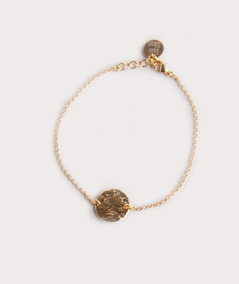 TOM SHOT Moon Armband gold