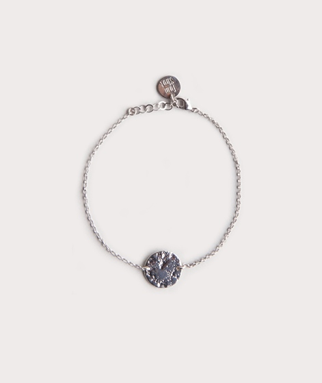 TOM SHOT Moon Armband silber