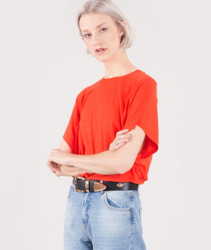 TWIST & TANGO Kate T-Shirt tomato