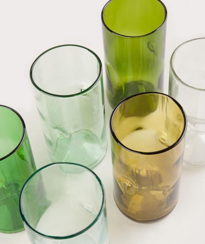 JESPER JENSEN Set of 6 tall glasses