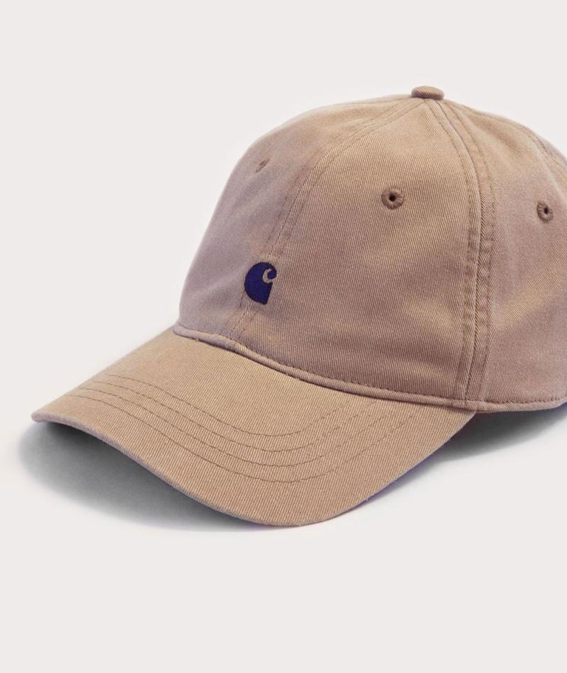 CARHARTT Madison Logo Cap leather navy