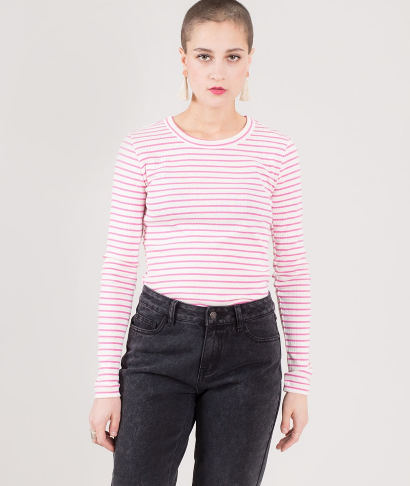 M BY M Sevelia Stripe Longsleeve fairy