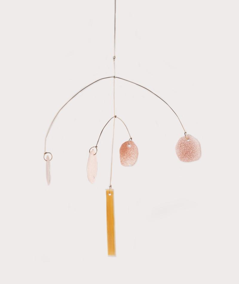 ISAK GLAS Mobile Glass M apricot