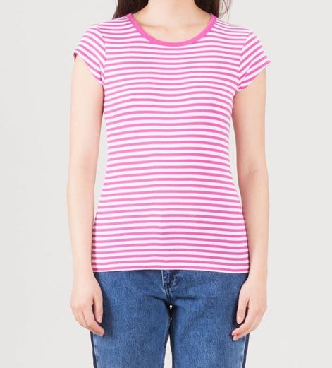 MADS NORGAARD Trappy T-Shirt deep pink