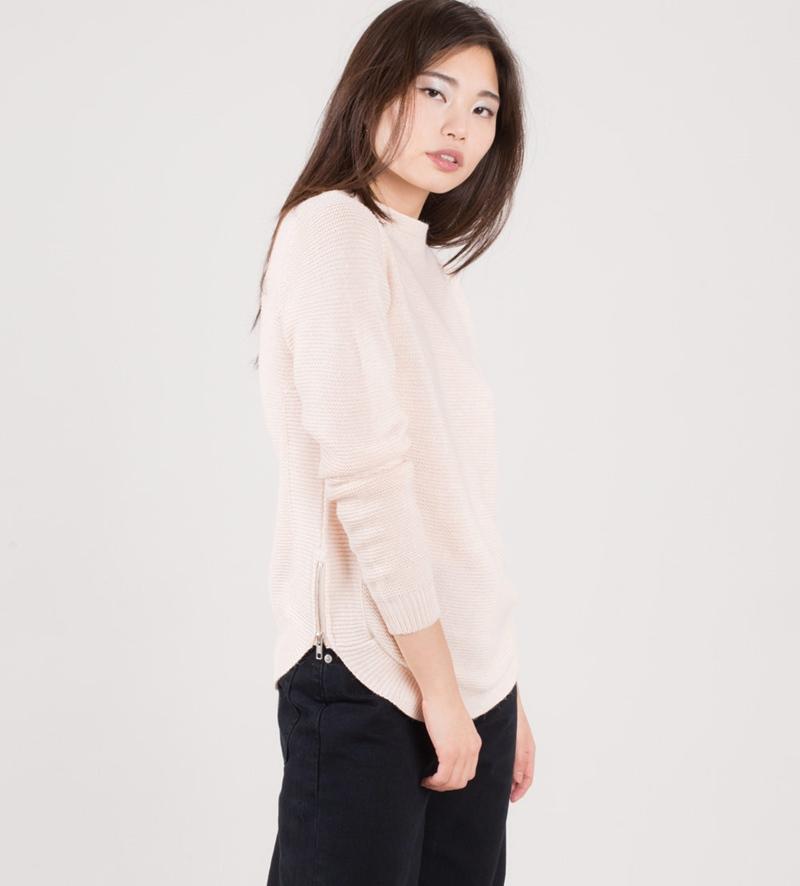 VILA Viheri Pullover peach blush
