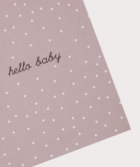 PAPIER AHOI Hello Baby rosa