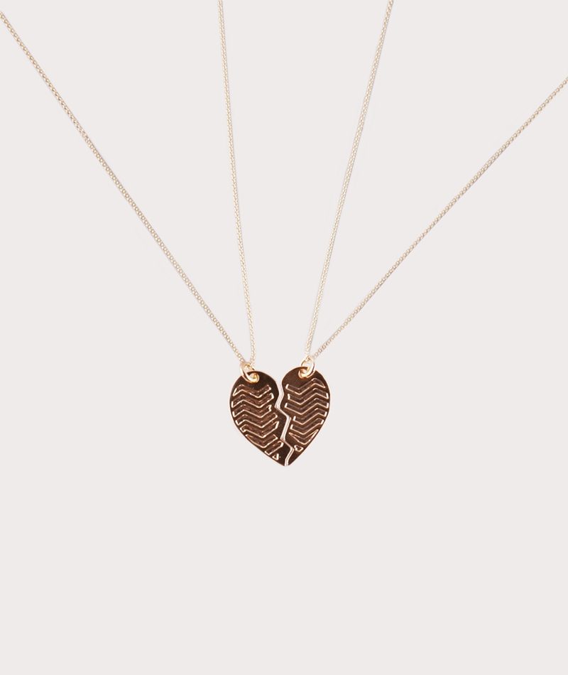 TOO DREAMY One Heart Set Kette gold