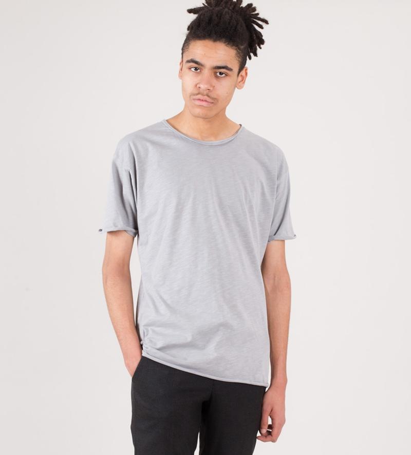 ROCKAMORA Aron T-Shirt stone grey