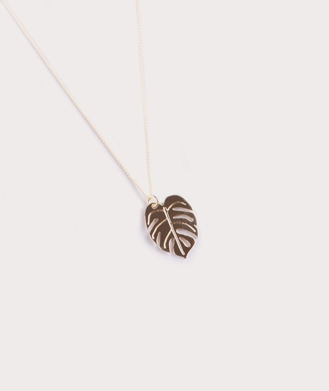 TOO DREAMY Monstera Kette gold