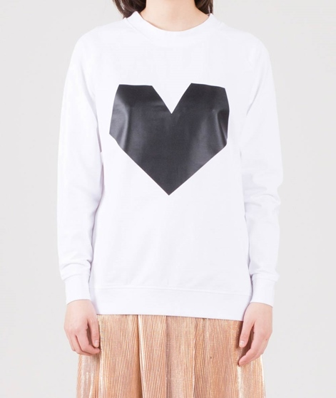 POP COPENHAGEN Heart Pictogramm Sweater