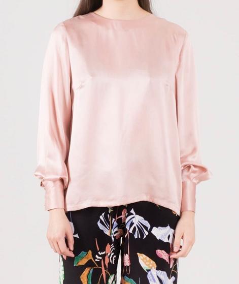 POP COPENHAGEN Sand Washed Silk Bluse