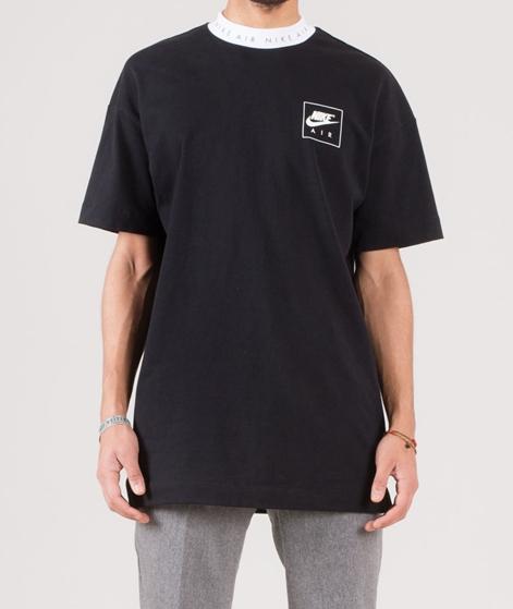 NIKE Sportwear T-Shirt black/white/white