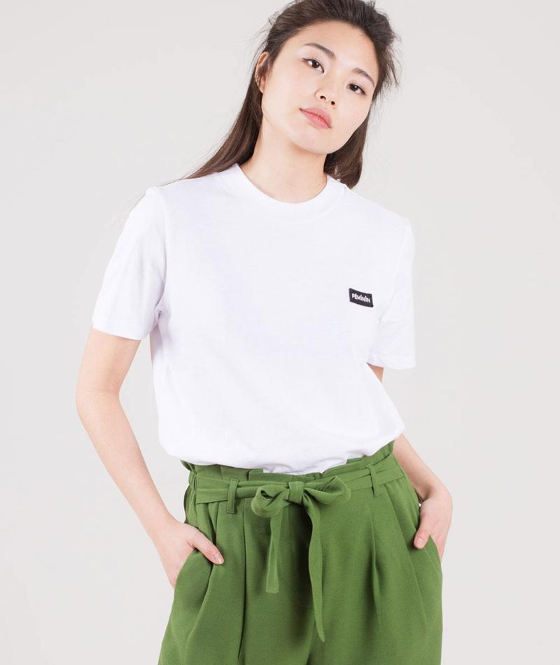 JUST FEMALE Feminin T-Shirt white