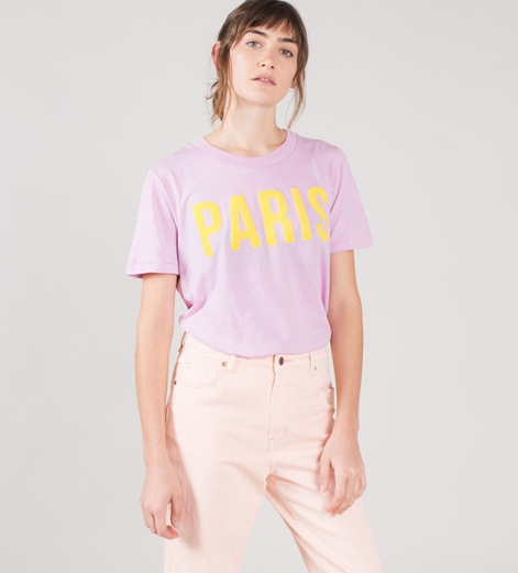 M BY M Paris Casual T-Shirt orchid