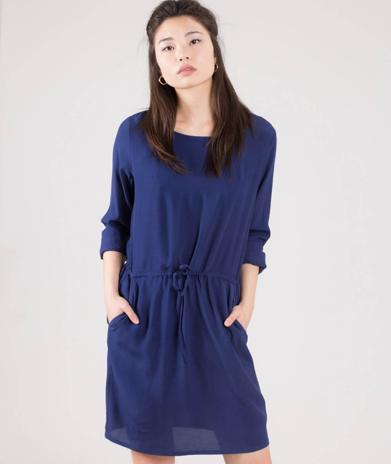 M BY M Caldiz Hamino Kleid medi blue
