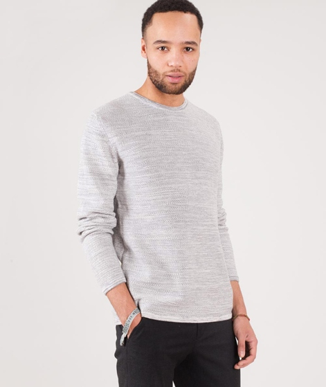 MINIMUM Reiswood 2.0 Pullover light grey